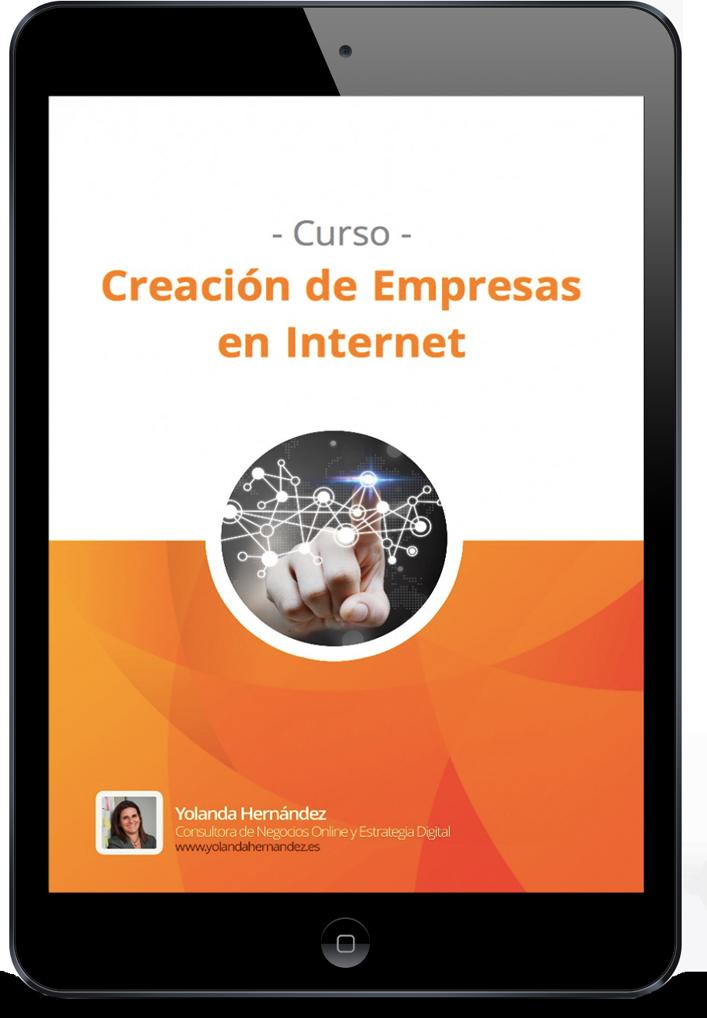 Creación de Empresas en internet